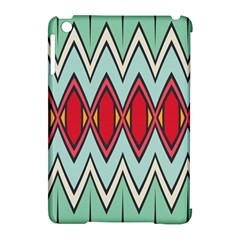 Rhombus And Chevrons Pattern			apple Ipad Mini Hardshell Case (compatible With Smart Cover) by LalyLauraFLM