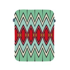 Rhombus And Chevrons Pattern			apple Ipad 2/3/4 Protective Soft Case by LalyLauraFLM