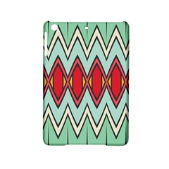 Rhombus And Chevrons Pattern			apple Ipad Mini 2 Hardshell Case by LalyLauraFLM