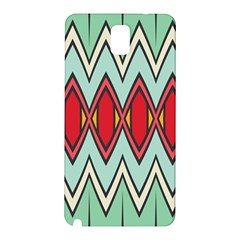 Rhombus And Chevrons Pattern			samsung Galaxy Note 3 N9005 Hardshell Back Case by LalyLauraFLM