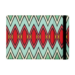 Rhombus And Chevrons Pattern			apple Ipad Mini 2 Flip Case by LalyLauraFLM
