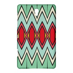 Rhombus And Chevrons Pattern			samsung Galaxy Tab S (8 4 ) Hardshell Case by LalyLauraFLM