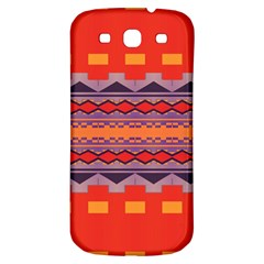 Rhombus Rectangles And Triangles			samsung Galaxy S3 S Iii Classic Hardshell Back Case by LalyLauraFLM