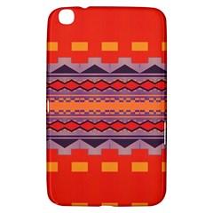 Rhombus Rectangles And Triangles			samsung Galaxy Tab 3 (8 ) T3100 Hardshell Case by LalyLauraFLM