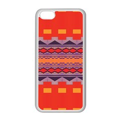Rhombus Rectangles And Triangles			apple Iphone 5c Seamless Case (white) by LalyLauraFLM