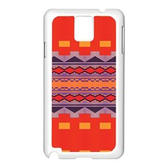 Rhombus Rectangles And Triangles			samsung Galaxy Note 3 N9005 Case (white) by LalyLauraFLM