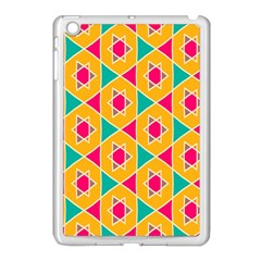Colorful Stars Pattern			apple Ipad Mini Case (white) by LalyLauraFLM