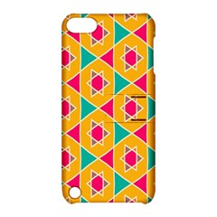 Colorful Stars Pattern			apple Ipod Touch 5 Hardshell Case With Stand by LalyLauraFLM