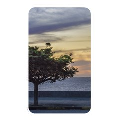 Sunset Scene At Boardwalk In Montevideo Uruguay Memory Card Reader by dflcprints