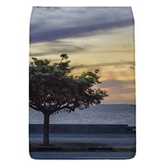 Sunset Scene At Boardwalk In Montevideo Uruguay Flap Covers (s)  by dflcprints
