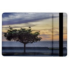 Sunset Scene At Boardwalk In Montevideo Uruguay Ipad Air Flip by dflcprints