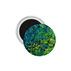 Flowers Abstract Yellow Green 1 75  Magnets by Costasonlineshop