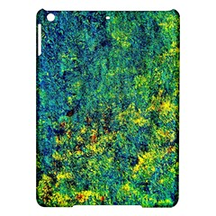 Flowers Abstract Yellow Green Ipad Air Hardshell Cases by Costasonlineshop