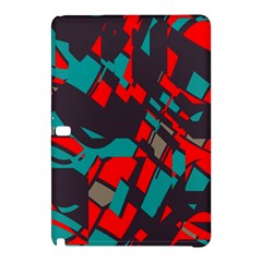 Red Blue Pieces			samsung Galaxy Tab Pro 12 2 Hardshell Case by LalyLauraFLM