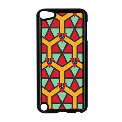 Honeycombs Triangles And Other Shapes Pattern			apple Ipod Touch 5 Case (black) by LalyLauraFLM