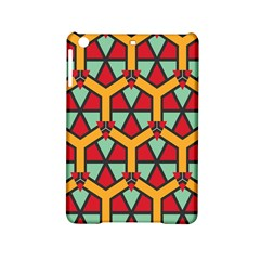 Honeycombs Triangles And Other Shapes Pattern			apple Ipad Mini 2 Hardshell Case by LalyLauraFLM