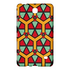 Honeycombs Triangles And Other Shapes Pattern			samsung Galaxy Tab 4 (8 ) Hardshell Case by LalyLauraFLM