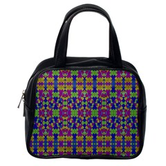 Ethnic Modern Geometric Pattern Classic Handbags (one Side) by dflcprints