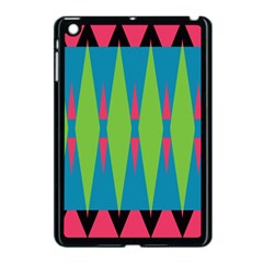 Connected Rhombus			apple Ipad Mini Case (black) by LalyLauraFLM