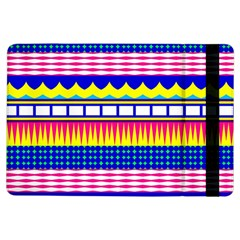 Rectangles Waves And Circles			apple Ipad Air Flip Case
