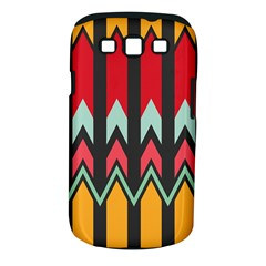 Waves And Other Shapes Pattern			samsung Galaxy S Iii Classic Hardshell Case (pc+silicone)