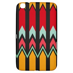 Waves And Other Shapes Pattern			samsung Galaxy Tab 3 (8 ) T3100 Hardshell Case by LalyLauraFLM