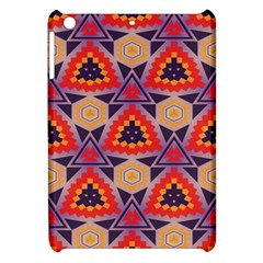 Triangles Honeycombs And Other Shapes Pattern			apple Ipad Mini Hardshell Case by LalyLauraFLM