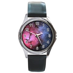 Trifid Nebula Round Metal Watches