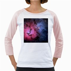 Trifid Nebula Girly Raglans