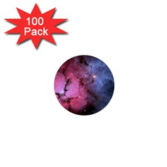 Trifid Nebula 1  Mini Buttons (100 Pack)