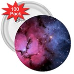 TRIFID NEBULA 3  Buttons (100 pack)  Front