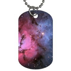 Trifid Nebula Dog Tag (one Side)