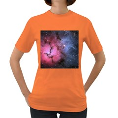 Trifid Nebula Women s Dark T Shirt