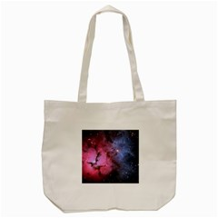 Trifid Nebula Tote Bag (cream)  by trendistuff