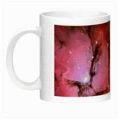 Trifid Nebula Night Luminous Mugs by trendistuff