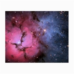 Trifid Nebula Small Glasses Cloth
