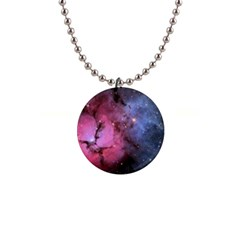 Trifid Nebula Button Necklaces