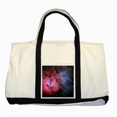 Trifid Nebula Two Tone Tote Bag