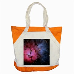 Trifid Nebula Accent Tote Bag  by trendistuff