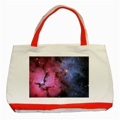 Trifid Nebula Classic Tote Bag (red)