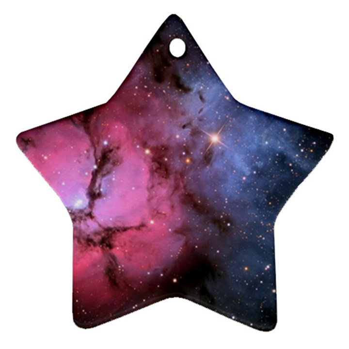 TRIFID NEBULA Star Ornament (Two Sides)