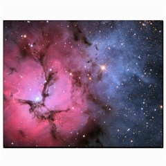 Trifid Nebula Canvas 8  X 10