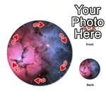 TRIFID NEBULA Playing Cards 54 (Round)  Front - Heart9