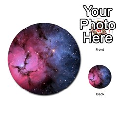 Trifid Nebula Multi Purpose Cards (round)