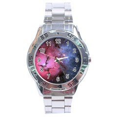 Trifid Nebula Stainless Steel Men s Watch