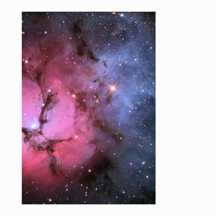 TRIFID NEBULA Small Garden Flag (Two Sides)