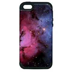 Trifid Nebula Apple Iphone 5 Hardshell Case (pc+silicone)
