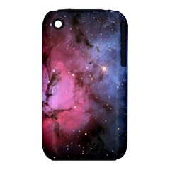 Trifid Nebula Apple Iphone 3g/3gs Hardshell Case (pc+silicone)