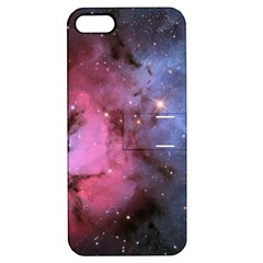 Trifid Nebula Apple Iphone 5 Hardshell Case With Stand