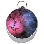 TRIFID NEBULA Silver Compasses Front